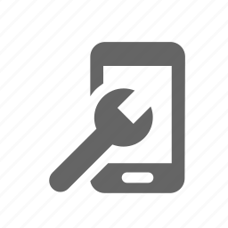 cellphone, cellular, malfunction, mobile, phone, repair, wrench icon