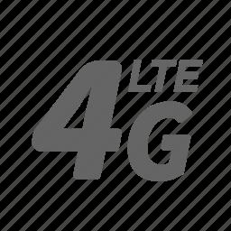 internet, lte, mobile, network, technology, telecommunications, wireless icon