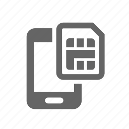 card, cellular, chip, contract, mobile, phone, sim icon