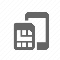 card, cellphone, cellular, chip, mobile, sim, telecommunications icon