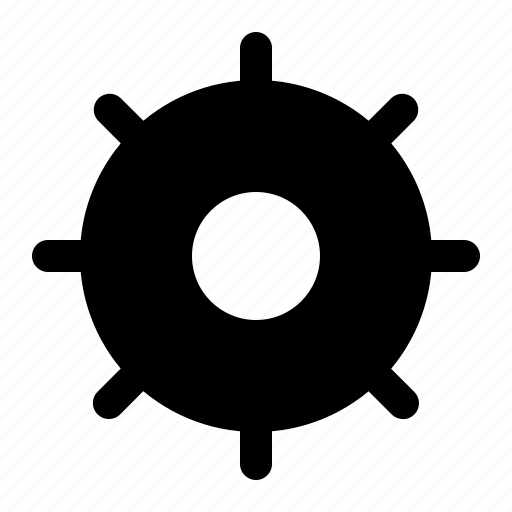 Atom, gear, spoot icon - Download on Iconfinder