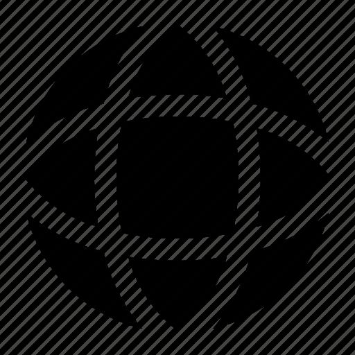 browser, globe, web icon