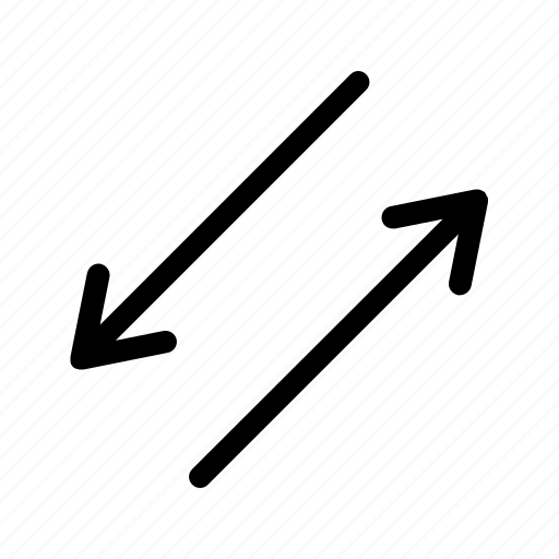 arrow, arrows, direction, move, route, sign, way icon