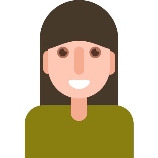 avatar, female, girl, people, profile, woman icon
