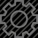 button, gear, option, setting