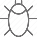 malware, threat, virus icon