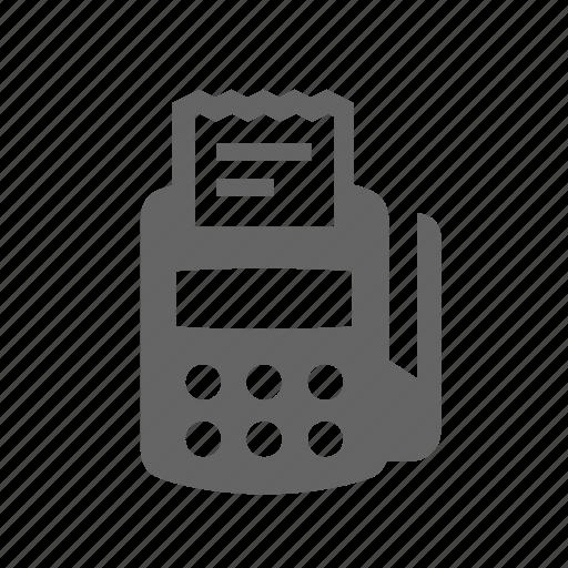 check, device, portable, retail, shopping, terminal, transactions icon