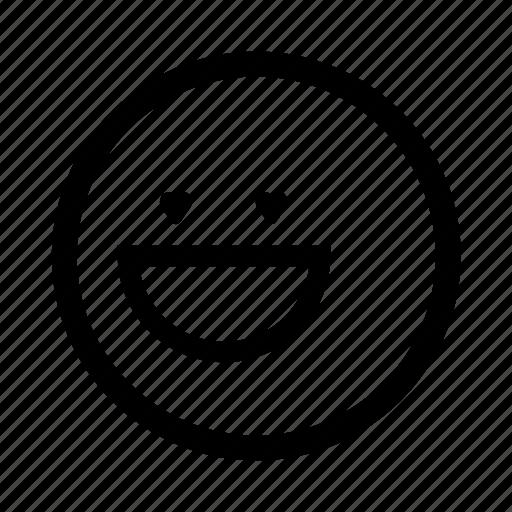 emoji, love, minimal, simplified, smiley icon
