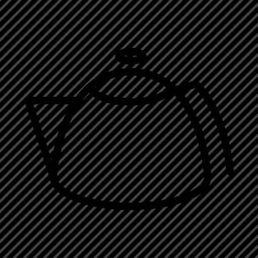hot, kitchen, pot, tea, teapot, warm icon