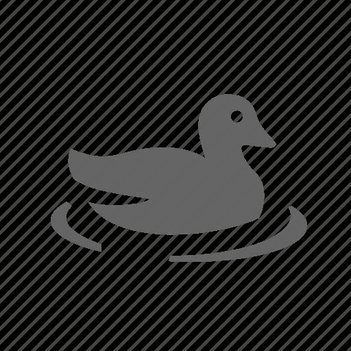Bird, drake, duck, goose, hunting, wading, wild icon - Download on Iconfinder