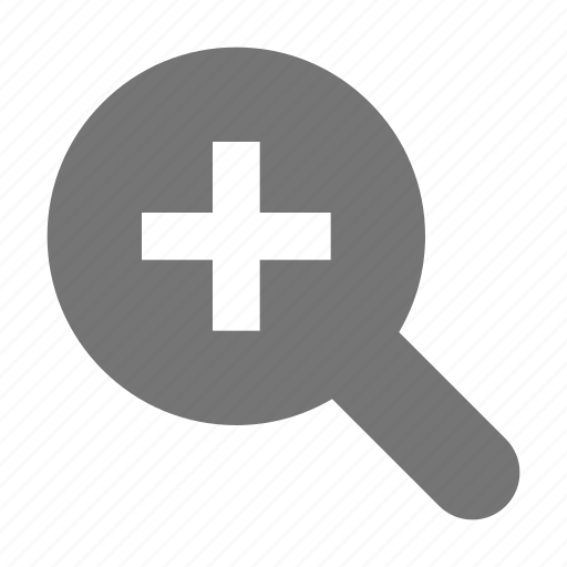 find, in, magnifier, magnifying, search, view, zoom icon