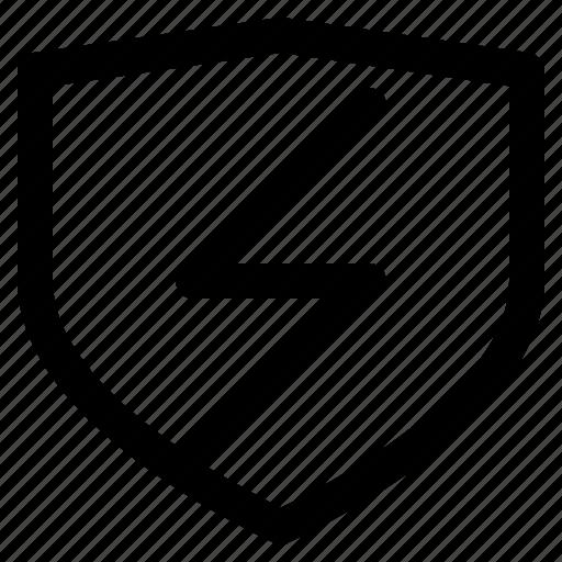 fast, flash, iconset, protection, secure, set, web design icon