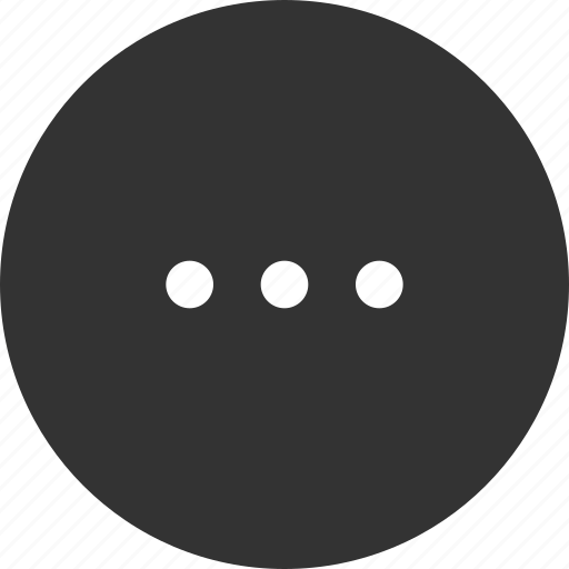 dots, list, menu, more icon