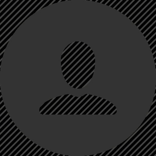 account, person, user icon