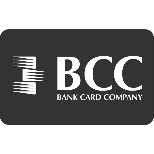 bank card company, bcc, cash, checkout, online shopping, payment method, service icon