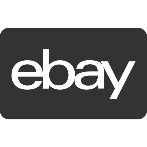 checkout, ebay, ecommerce, online shopping, payment method, shop, store icon