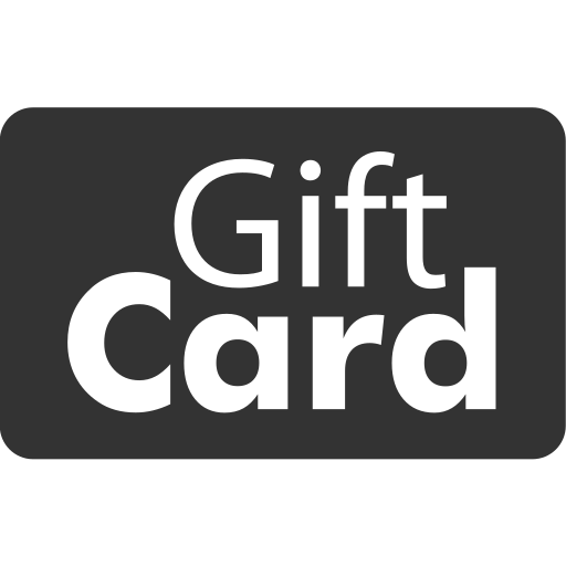 account card, checkout, gift card, online shopping, payment method, present, service icon