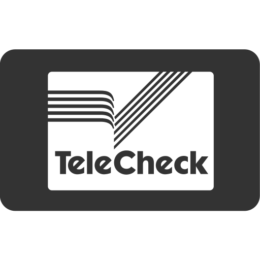 card, cash, checkout, online shopping, payment method, service, telecheck icon
