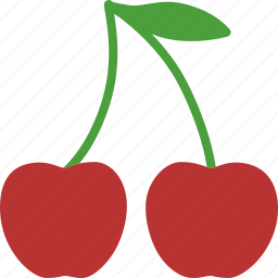 berries, casino, cherries, cherry, fruit, gambling, slots icon