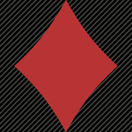 card, diamond, gamble, gambling, game, playing, suit icon