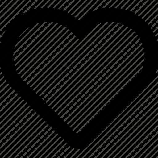 favorite, heart, like, love, save icon