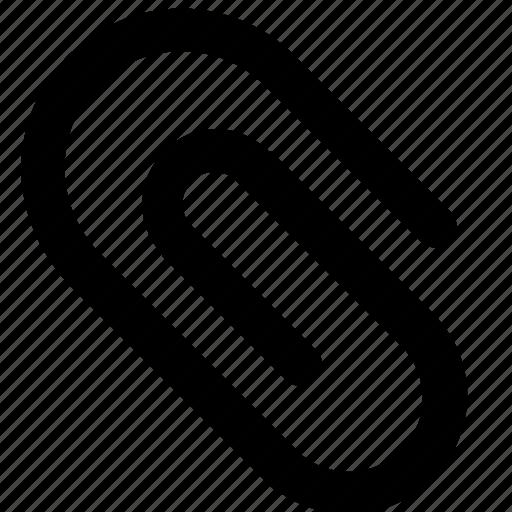 attach, attachment, paperclip icon