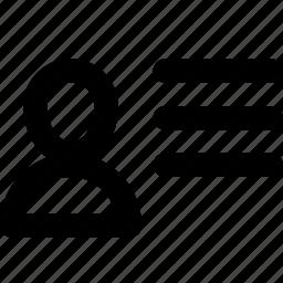 id, people, person, profile icon