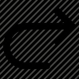 forward, redo icon