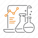 analytics, chemistry, lab, statistics icon