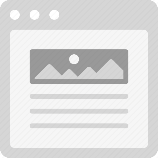 article, blog, blog post, content icon