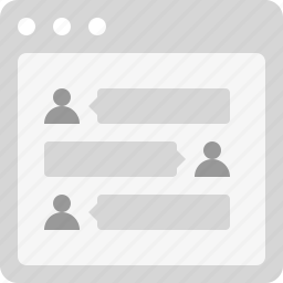 chat, comment, conversation, discussion, talk, testimonial icon