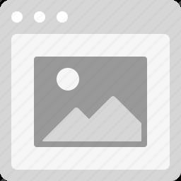 image, image popup, photo, photo thumbnail, photography icon
