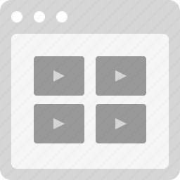 movies, video files, videos, videos list, youtube icon