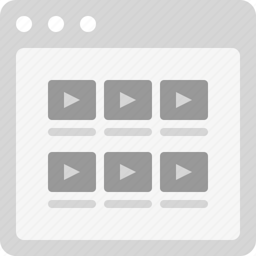 Sitemap List: Movies, Movies List, Videos, Videos List, Youtube Icon