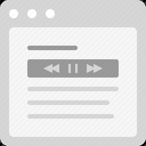 audio book, audio file, audio track, music file, music track, podcast icon