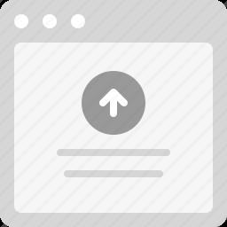 upload, upload file, upload process, upload screen icon