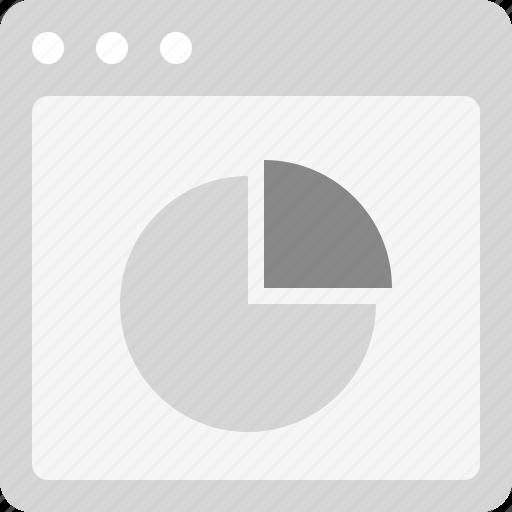 pie chart, report, statistics, stats icon