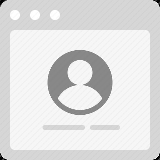 employee, member, member profile, profile, profile page, team member, user profile icon