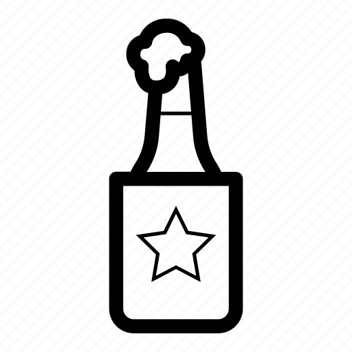 beer, bottle, coozie, drink, suds icon