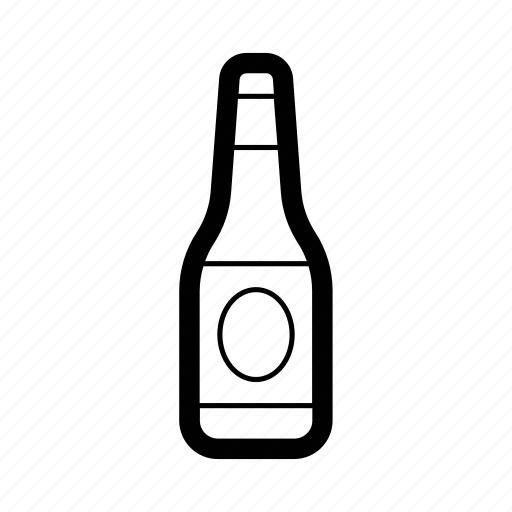 beer, bottle, drink, lager icon