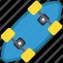 longboard, ride, skate, sport icon