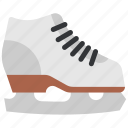 figure skate, figure skating, ride, skate, sport icon