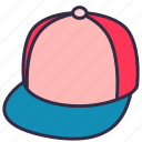 hat, cap, clothes, outfit, wearing, head