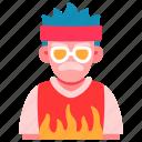 old, man, fashion, skateboard, swag, cool, person