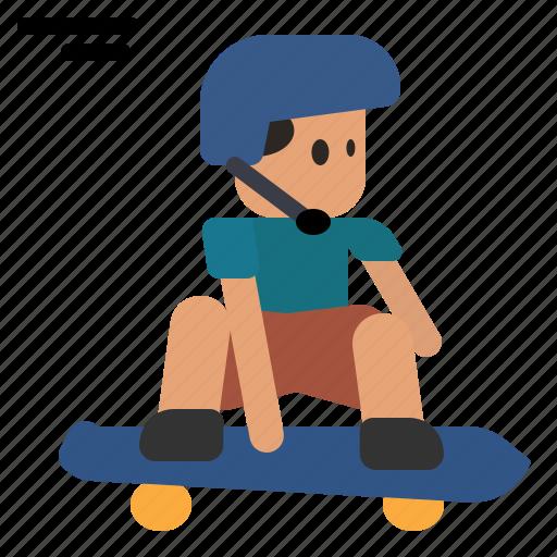 Skateboarding, surfskate, skating, skate, skater, boy, skateboard icon - Download on Iconfinder