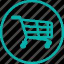 cart, commerce, ecommerce, online, shopping, skateshop, store icon
