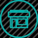 address, offline, shop, skateboard, skateshop icon