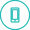 communication, contact, device, mobile, phone, skateshop icon
