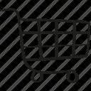 asket, buy, ecommerce, purchase, shopping cart icon icon