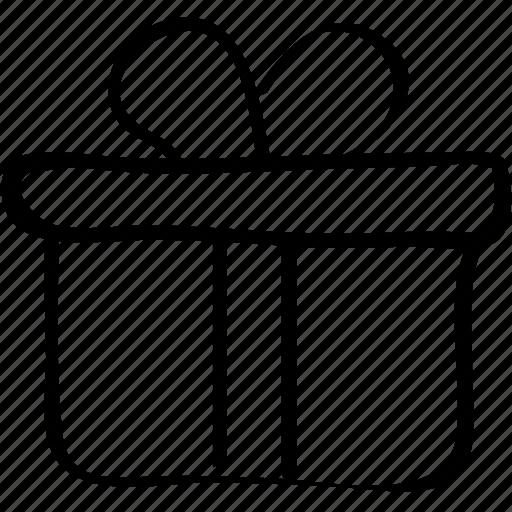 box, gift, present icon, shopping icon